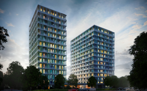 Blue Tower Frankfurt / The Grounds Real Estate Development AG